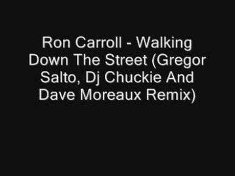 Ron Carroll - Walking Down The Street (Gregor Salto Rmx)