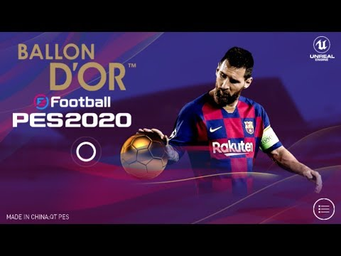 PES 2020 Mobile V4.1.0 New Patch Android