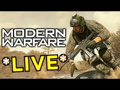 (LIVE) Big Modern Warfare Gameplay Reveal & 'SECRET' Announcement - MW4 Live Stream
