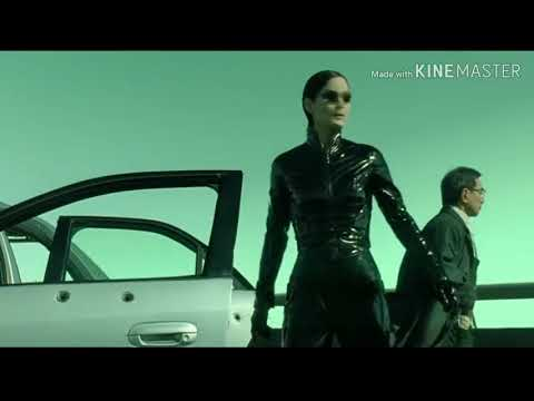The Matrix Reloaded Trinity Decate new bike chasing scen  + Sarena safari song🔥   |   Salman_hazari