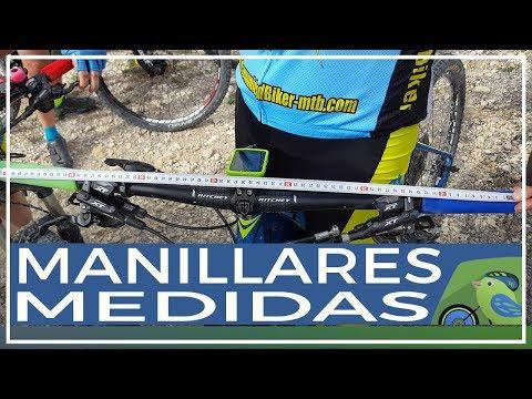 Los manillares y sus medidas en el ciclismo de montaña