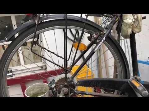 Fahrrad Schutzblech hinten montieren + Trekkingrad Gepäckträger Montage Anleitung