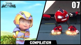 Vir: The Robot Boy & Rollbots | Compilation 07 | Action show for kids | WowKidz Action