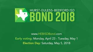 HEB ISD Bond 2018 - School Finance Questions