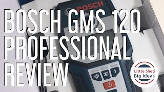 BOSCH GMS 120 Professional Review
