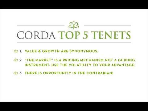CORDA's Top 5 Tenets