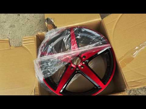 UNBOXING EBAY EFFECT RIMS AKA MAZDA MODS