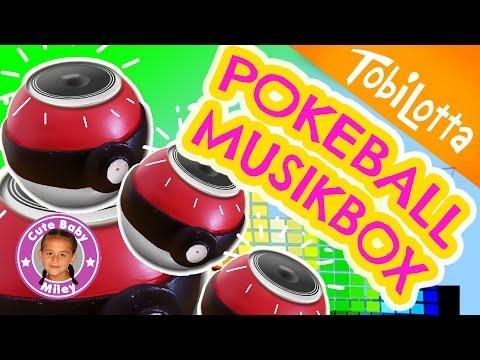 POKEMON Lautsprecher DIY Pokeball Bastelidee basteln Kinder | Tobi Lotta & CuteBabyMiley