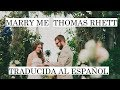 marry me ♥ thomas rhett |Cover|Sub Español ♥  sub español
