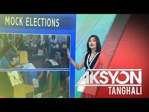 [News5] Comelec, nagsagawa ng mock elections sa Tondo