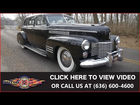 1941 Cadillac Series 75 Limousine (SOLD)