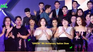 """KANEBO"" 15th Anniversary Fashion Show In Yangon"