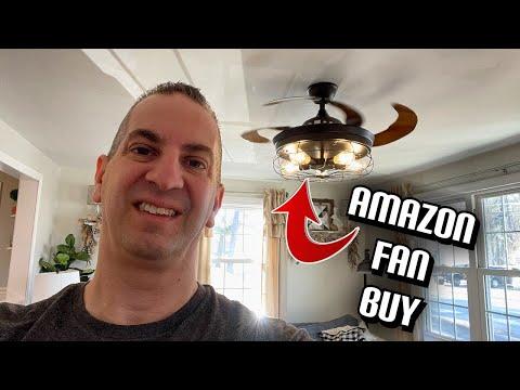 Amazon Retractable Blade Ceiling Fan Review