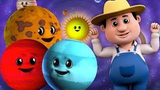 Gambar cover planet Lagu   pendidikan lagu   belajar planet untuk kanak-kanak   Solar System Rhyme   Planets Song