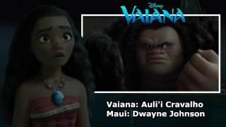 Moana - Maui Leave & Choose Someone Else (English Europe)