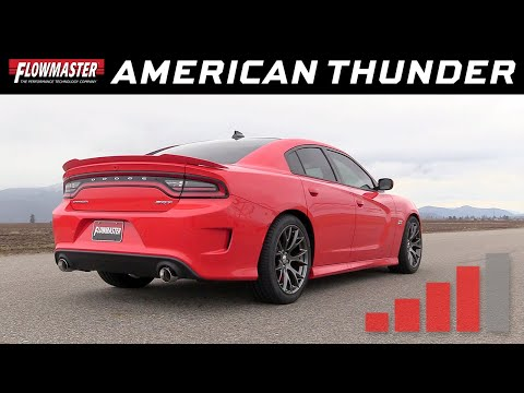 2015-19 Charger SRT 392, Scat Pack, Hellcat - American Thunder Cat-back Exhaust System