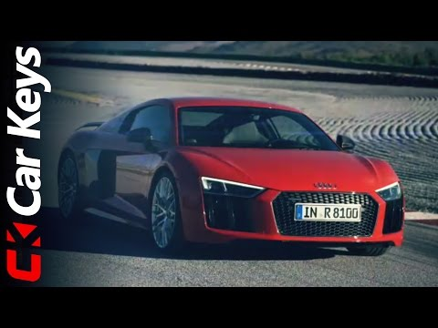 New Audi R8 takes to the track