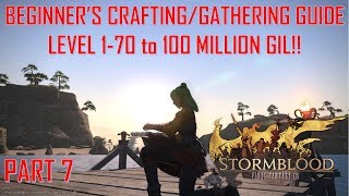 Final Fantasy XIV - Beginner's Crafting/Gathering Guide 1-70