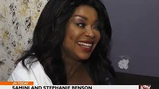 Samini And Stephanie Benson   Joy Entertainment Today (17 8 17)