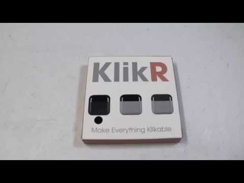 Klikr Bluetooth Infrared Electronics Controller With Mobile Phone App Review
