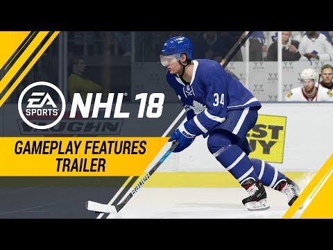 NHL 18 | Gameplay Features Trailer – Creative Attack Dekes, Defensive Skill Stick, Creative AI thumbnail