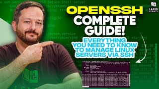 SSH Tutorial for Linux Users - Full Beginners Course
