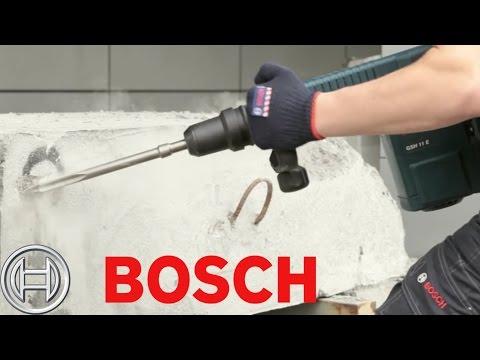 הדגמה - בוש GSH 11E - פטיש חציבה
