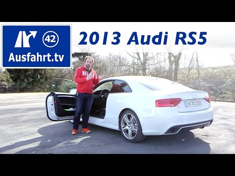 2013 Audi RS5 : Fahrbericht / Probefahrt / Erfahrungen / Review / Test