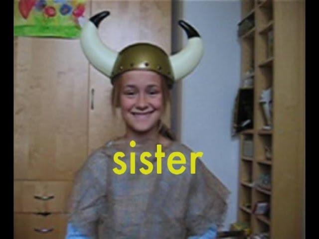 Tellef Raabe – sister