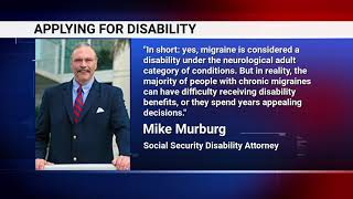 Video thumbnail: Can You Get SSDI For Migraines?