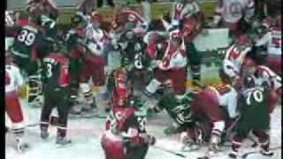 Хоккейная драка Локомотив-Авангард
