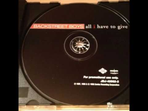 Backstreet Boys All I Have To Give (1998 Instrumental)