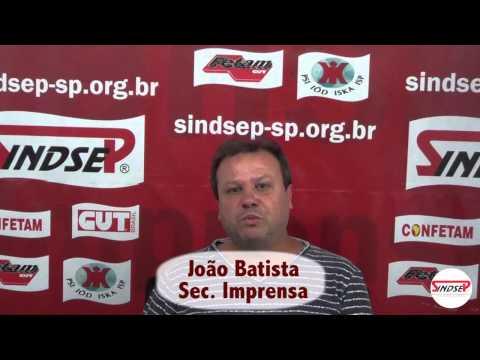 João Batista Gomes - Secretário de Imprensa do Sindsep