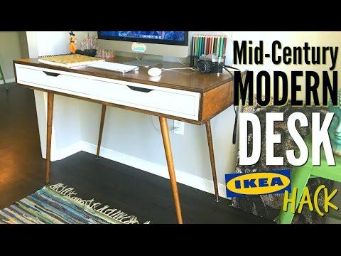 Stylischer Schreibtisch - So hackst du IKEA EKBY ALEX