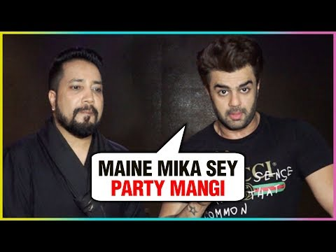 Manish Paul Convinced Mika Singh For A Grand Birthday Party | Mika's Birthday Bash