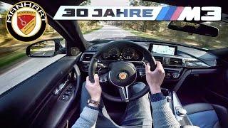 BMW M3 30 JAHRE Manhart 550 HP POV Test Drive by AutoTopNL