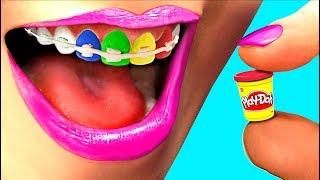 Play-Doh Prank War! Miniature Play-Doh Set!!! (CC Available)