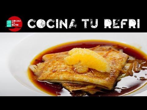 Cómo preparar Crêpes Suzette Cocina tu Refri 173 Crepas