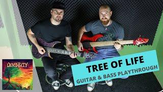 Video DIVERSITY - TREE OF LIFE (GUITAR & BASS PLAYTHROUGH)