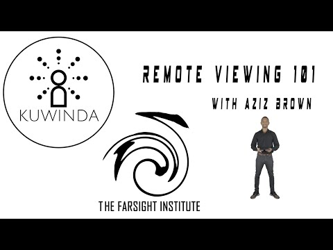 Remote Viewing 101 - The Complete Lesson