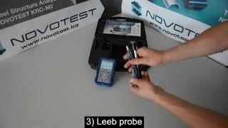 Φορητό Σκληρόμετρο Υπερήχων UCI και Αναπήδησης T-UD2 NOVOTEST