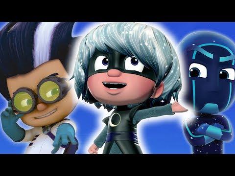 PJ Masks Episodes | PJ Masks Villains: Meet Luna Girl, Night Ninja and Romeo | Cartoons for Children