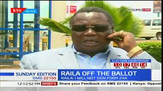 COTU Sec Gen Francis Atwoli speaks of Raila Odinga's withdrawal: Sunday Edition
