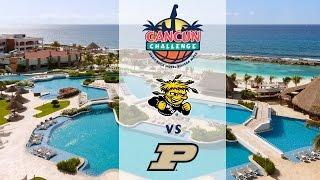 2016 Cancun Challenge WBB | Wichita State vs. Purdue (No Audio)