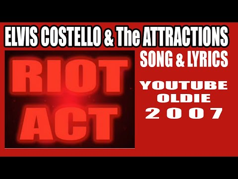 Elvis Costello - Riot Act (song & lyrics)