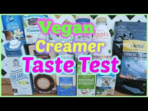 VEGAN CREAMER TASTE TEST - 11 Kinds!
