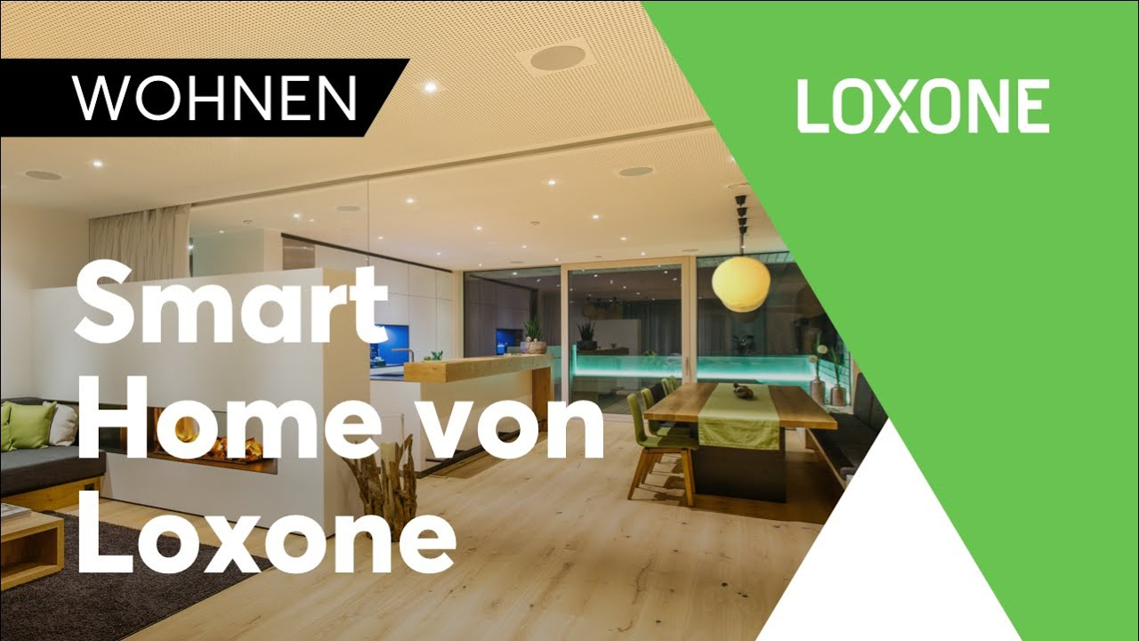 Smart Home von Loxone | No Gimmicks. Real Smart Homes.