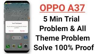 OPPO (ColorOS) theme Green April | Realme All A3s A37 A57 F7