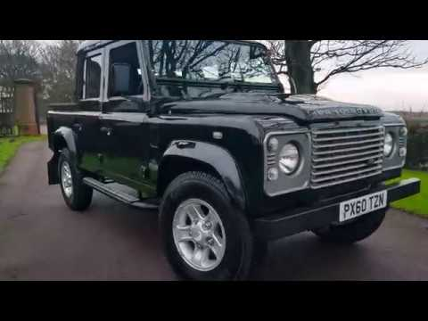 LAND ROVER DEFENDER 2.4 110 COUNTY DOUBLE CAB UTILITY