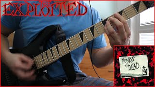 The Exploited - Mucky Pup / Guitar Cover